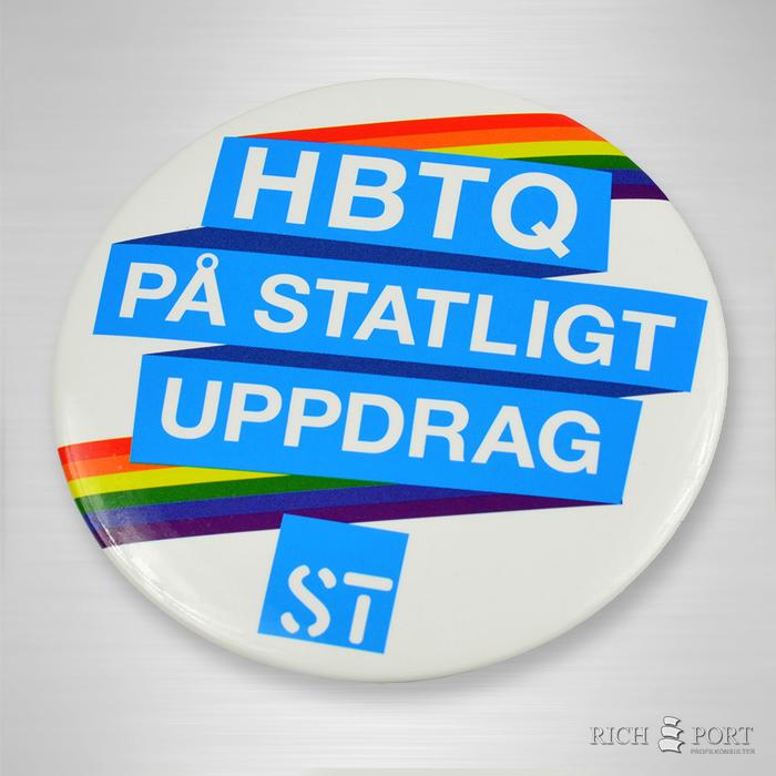 Knapp - HBTQ på statligt uppdrag